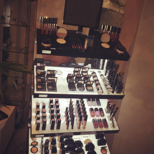 Postazione makeup